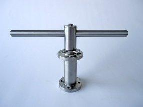 Verlengspindel met Locking Device en bedieningsleutel vanaf ISO F03